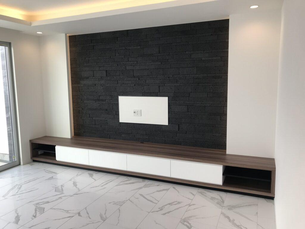越谷市 個人邸 テレビボード