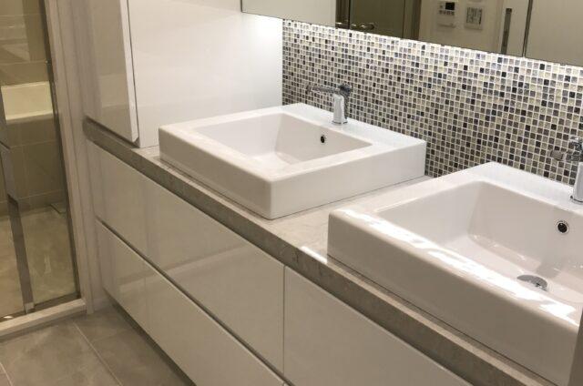 渋谷区 個人邸 洗面台