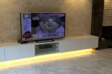 港区 個人邸 テレビボード