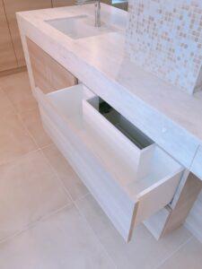 板橋区 個人邸 洗面台 モダン ラグジュアリー 高級 アイランド